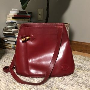 Vintage Longchamp Leather Crossbody